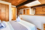 Master Bedroom in upstairs loft at Ocean Hous